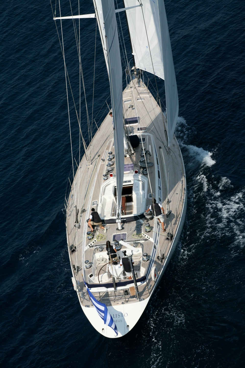 Crewed Yacht Charter in Greece Swan 80